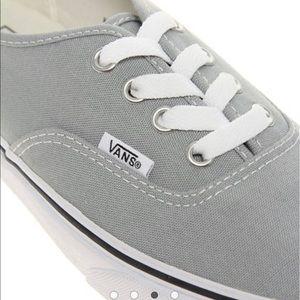 2022b61350ff Vans Shoes - Light grey classic vans